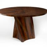 "Mandia Table in Rosewood 48"" Diameter X 30"" High Available in Custom Sizes & Finishes <A HREF=""http://www.imambience.com/MandiaTable_Rosewood_Tearsheet.pdf""><b>Click Here </b></A>to view and download tearsheet"