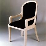 "F515BA Chicago Arm Chair in Bone Available in Custom Sizes & Finishes <A HREF=""http://www.imambience.com/F515BA_Chicago_Chair.pdf""><b>Click Here </b></A>to view and download tearsheet"
