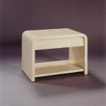 "F371 Bone End Table With One Drawer Size: 30"" Wide x 20"" Deep x 24"" High Custom Sizes and Finishes Available <A  HREF=""http://www.imambience.com/F371_Bone_End-Table.pdf""><b>Click here</b> </A>to view and download tearsheet."
