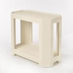 "Harrison Side Table Covered in Linen  Size: 28"" Wide x 14"" Deep x 23"" High Available in Custom Sizes & Finishes  <A HREF=""http://www.imambience.com/HarrisonSideTable_TearSheet.pdf""> <b>Click Here </b></A>to view and download tearsheet"