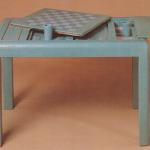"F447 Game Table. Embossed Two-Tone Leather. 44"" Wide x 26"" Deep x 29"" High Available in Custom Sizes & Finishes. <A  HREF=""http://www.imambience.com/F447_Game_Table.pdf""><b>Click here</b> </A>to view and download tearsheet."